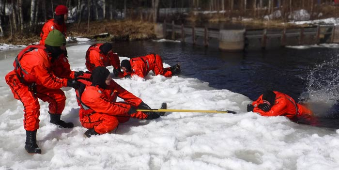 Ice Rescue Training Courses